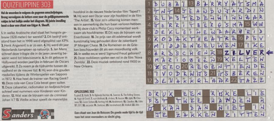 Jp Morgan Silver Manipulation In A Dutch Crossword Puzzle