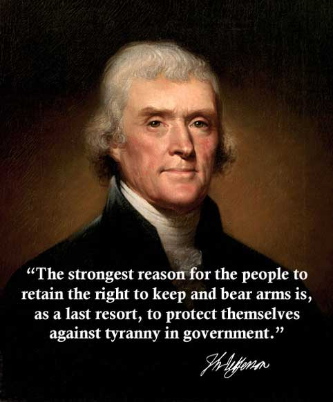 Thomas Jefferson on the Second Amendment